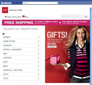 Store JCPenney su facebook