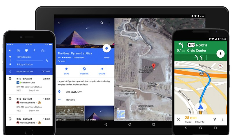 Material Design. Nuovo update per l'App Google Maps