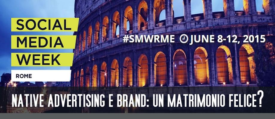Social Media Week Roma 2015