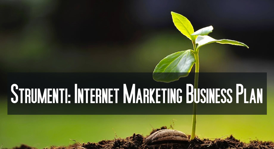 Internet Marketing Business Plan AG