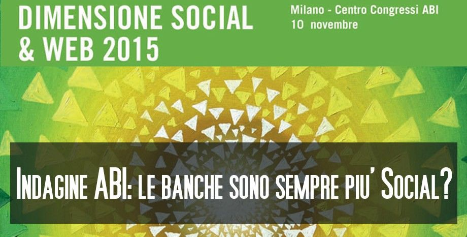 Indagine ABI - Banche Social
