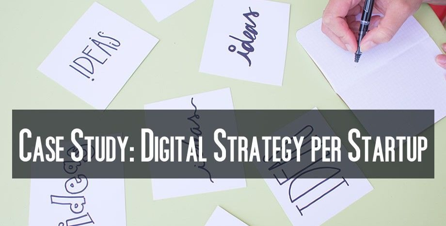 Digital Strategy per Startup