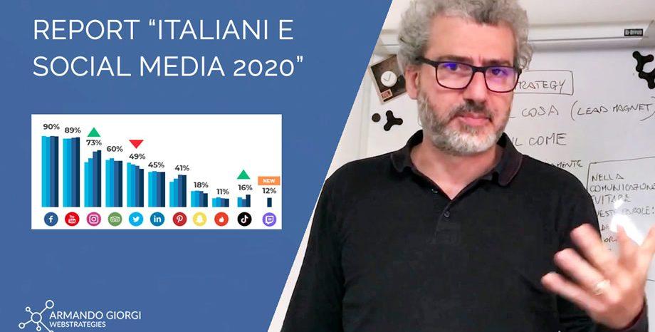 Quali social utilizziamo in Italia e come? Ecco i dati del Report Blogmeter 2020