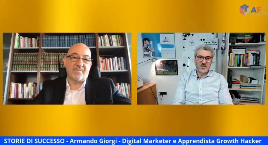 STORIE DI SUCCESSO: Armando Giorgi - Apprendista Growth Hacker [Intervista di Alessandro Ferrari]