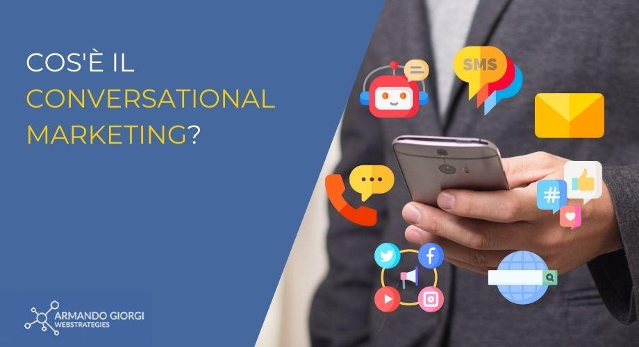 Cos'è il conversational marketing?